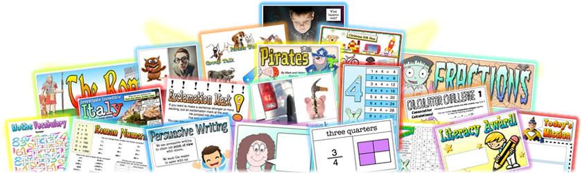 Teaching Packs Resources