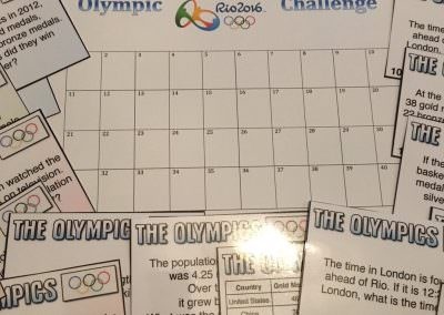 The Olympics Pack (sent by Grant)