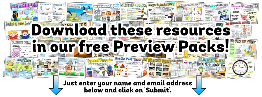 Download these resources in our free Preview Packs.