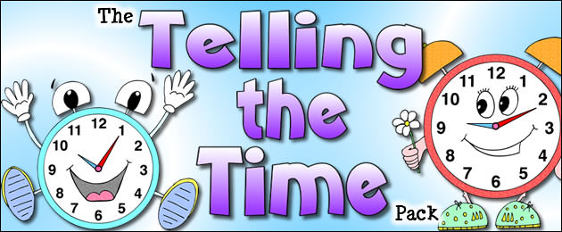 The Telling the Time Pack