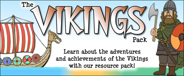 The Vikings Pack - Learn about the adventures and achievements of the Vikings with our resource pack.