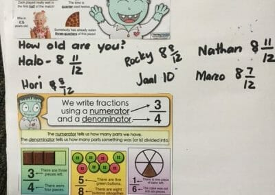 The Fractions Pack (sent by Robyn)