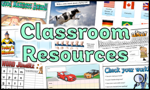 Classroom Resources Packs