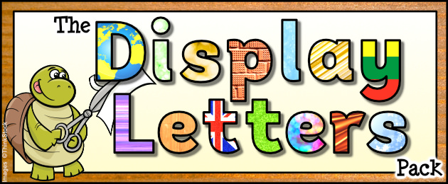 The Display Letters Pack